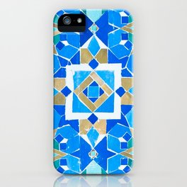 Hassan II Mosque Zellige - Morocco iPhone Case