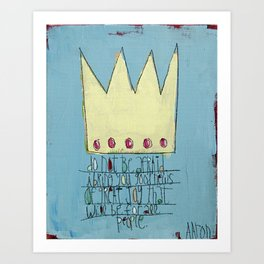 Good News of Great Joy Art Print