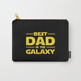 Best Dad in the Galaxy Carry-All Pouch