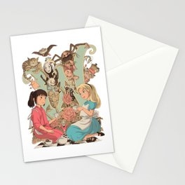 Wonderlands Stationery Cards