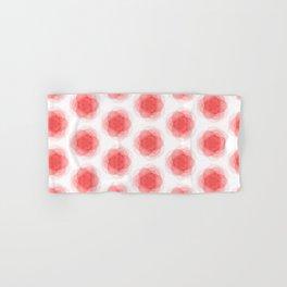 3D Roses Pattern. Hand & Bath Towel