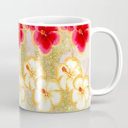 Gold Dust Flowers Coffee Mug