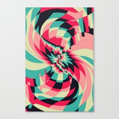 Swivel Vision (Available in the Society 6 Shop) Canvas Print