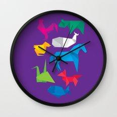 Origanimals Wall Clock
