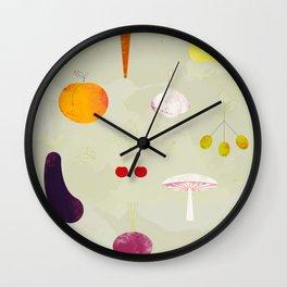 Fruit Medley Wall Clock