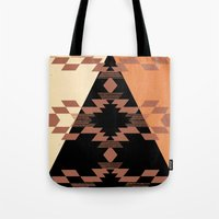 mexico Tote Bags featuring Mexico by Laura Santeler