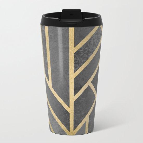 Art Deco Geometry 1 Metal Travel Mug
