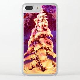 Merry wraith Xmas Clear iPhone Case