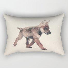 Little Ones: Wolf Rectangular Pillow