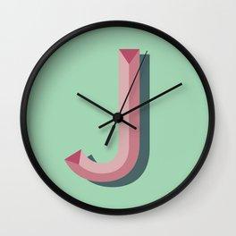j Wall Clock