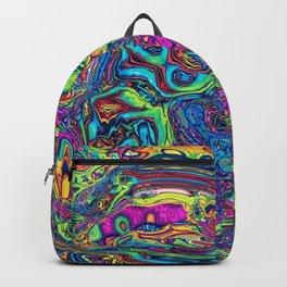 Trippy Scroll egg Backpack