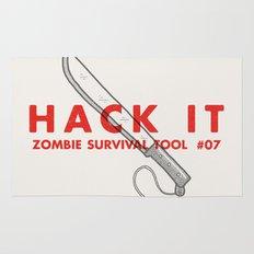 Hack it - Zombie Survival Tools Rug