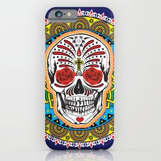 Day of the Dead Bandana iPhone 6s Slim Case