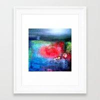 denmark Framed Art Prints featuring Denmark by Azureart