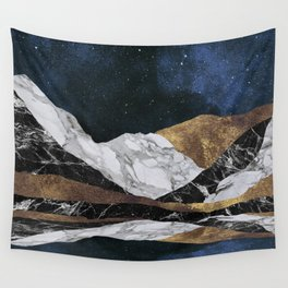 Marble Mountain Landscape Wall Tapestry