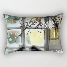 Warmth from Within Rectangular Pillow