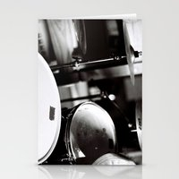 drums Stationery Cards featuring Drums by TomP