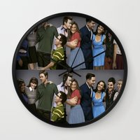 glee Wall Clocks featuring Glee by weepingwillow