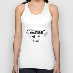 No Stress, Chill  Unisex Tank Top