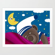 Good Night Mummy Art Print