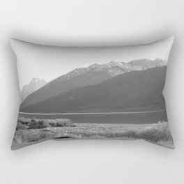 Distant Mountains Rectangular Pillow