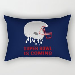 The Super Bowl Countdown Rectangular Pillow