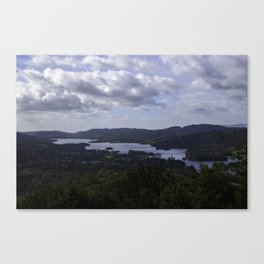 Lake Windermere, View from Orrest Head - Landscape Photography Canvas Print