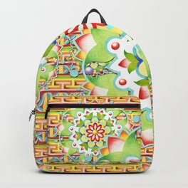 Fiesta Rainbow Mandala Backpack