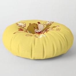 Bear & Bird Floor Pillow