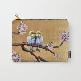 Cherry Blossom Chicks Carry-All Pouch