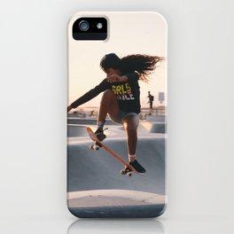 GRLS RULE | Venice Beach, California iPhone Case