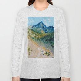 Mountain Landscape Long Sleeve T-shirt