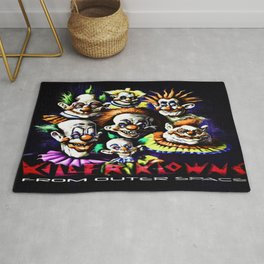 Clowns From Space Rug