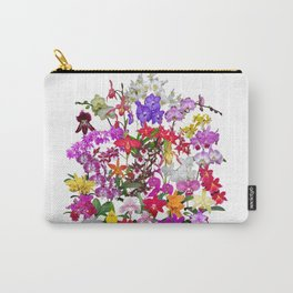 A celebration of orchids Carry-All Pouch