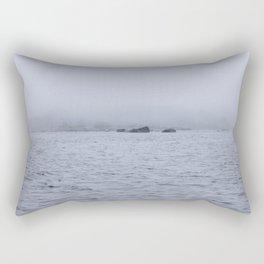 Foggy Island Rectangular Pillow