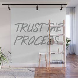 Trust The Process Workout Motivational Design Wall Mural