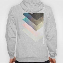 Geometric Layers Hoody