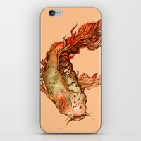 koi iPhone & iPod Skins featuring Koi by S.G. DeCarlo