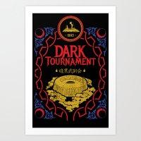 I Survived the Dark Tournament Art Print