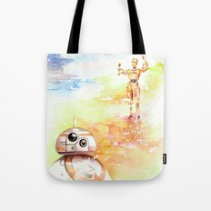 BB8 & C3PO Tote Bag