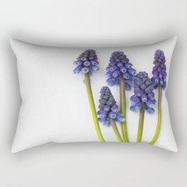 Muscari - Blue Grape - JUSTART © Rectangular Pillow