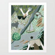 Carrot picnic Art Print