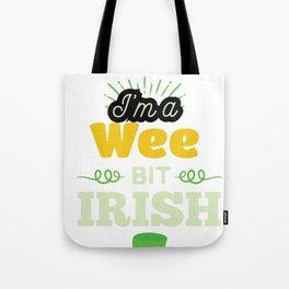 Funny Leprechaun Happy St Patricks Day  Tote Bag