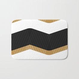 Crunchy Lines, No. 1 Bath Mat