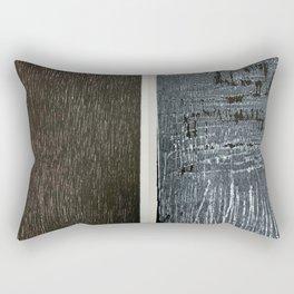 before wood after Rectangular Pillow
