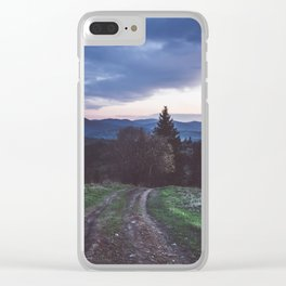 Go where you feel the most alive Clear iPhone Case