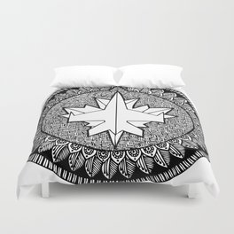 Ice Hockey team - Jets Duvet Cover