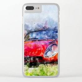 Alfa Tipo 33 Clear iPhone Case