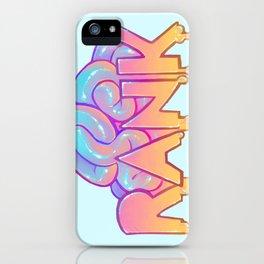 RANK iPhone Case