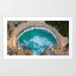 Mar Chiquita (Little Sea) Art Print